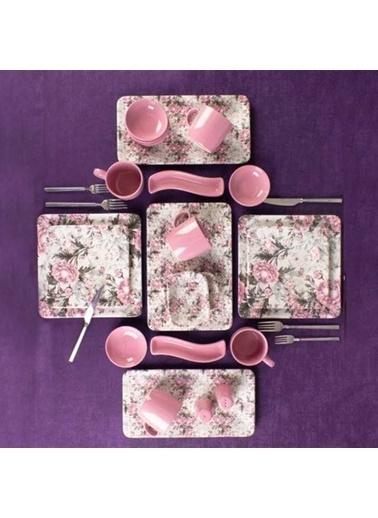 Acar HTC-010453/1 Acar 33 Parça La Rosa Kahvaltı Seti Htc-010453/1 Renkli